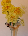 Daffodils- watercolor sketch